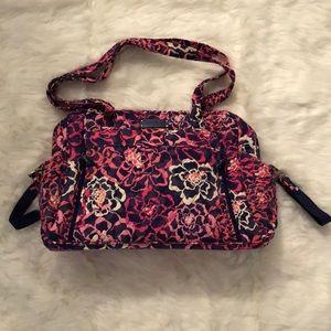 Vera Bradley Katalina Pink Floral Diaper Bag